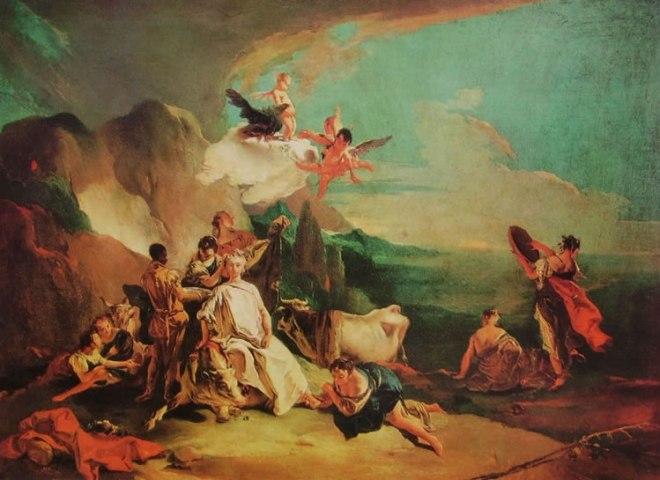 Il Tiepolo: Il ratto d'Europa