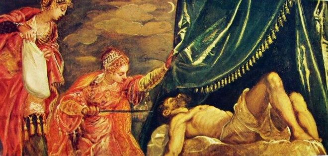 Il Tintoretto: Giuditta e Oloferne