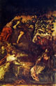 Il Tintoretto: Dipinti per la sala grande di San Rocco, La resurrezione di Lazzaro