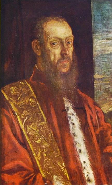Il Tintoretto: Ritratto di Vincenzo Morosini