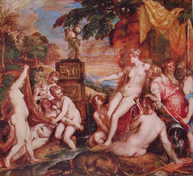 Tiziano: Diana e Callisto