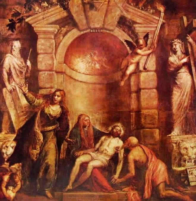 Tiziano: Pietà