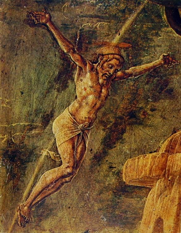 Cosmè Tura: Cristo crocifisso