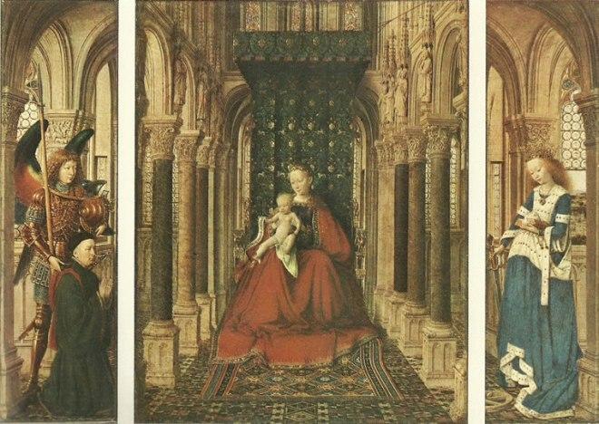 Jan van Eyck:Trittico di Dresda