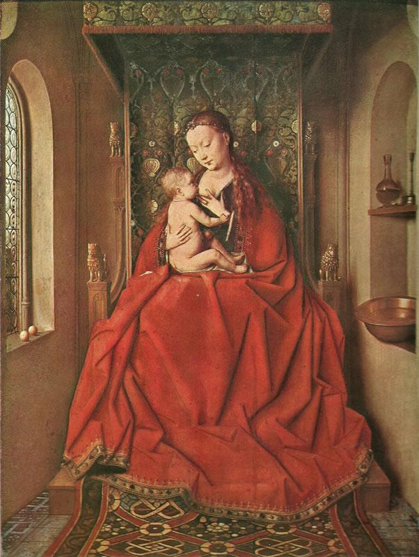 Jan van Eyck:Madonna di Lucca