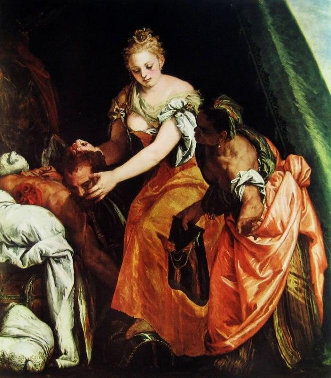 Il Veronese: L'uccisione di Oloferne
