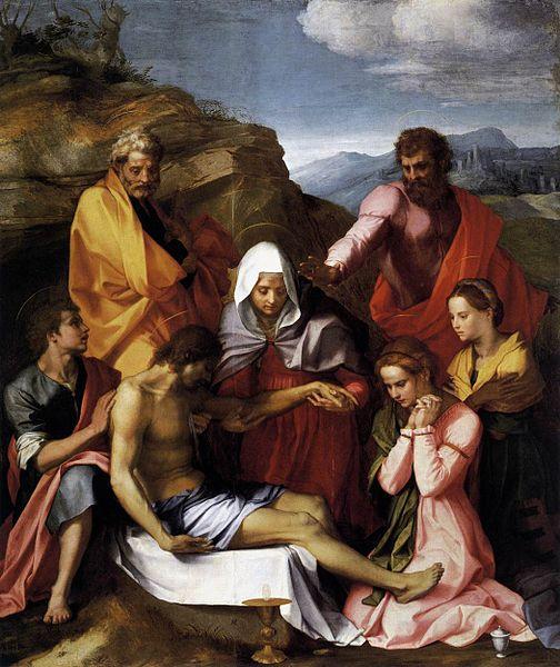 Andrea del Sarto: Pietà di Luco