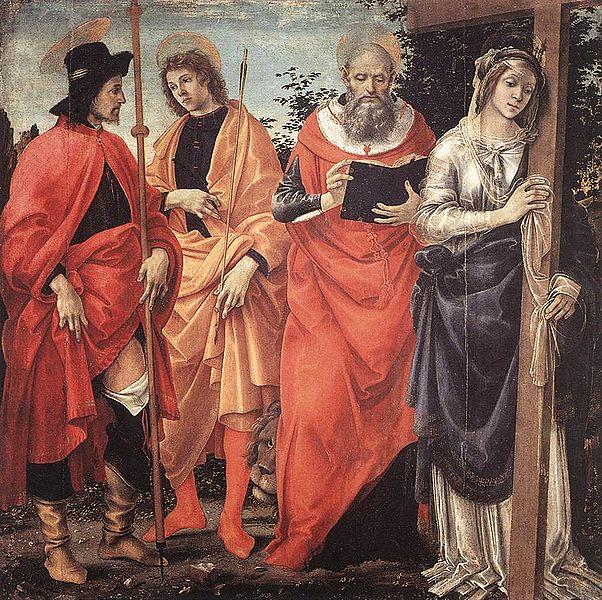 Filippino Lippi: Pala Magrini