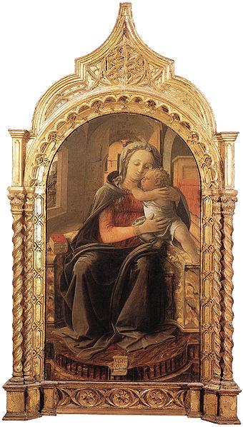 Filippo Lippi: Madonna di Tarquinia