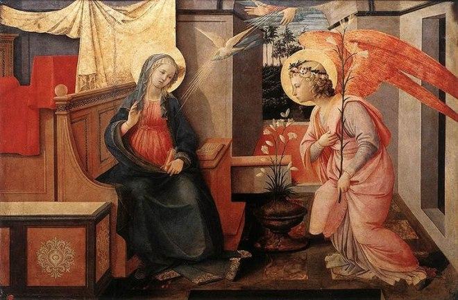 Filippo Lippi: Annunciazione Doria