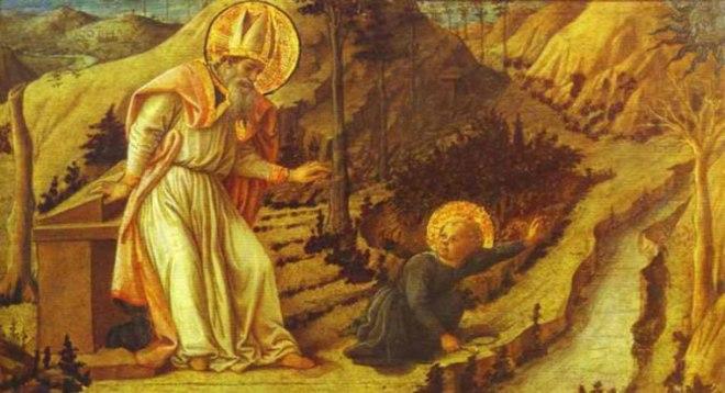 Filippo Lippi: Visione di sant'Agostino