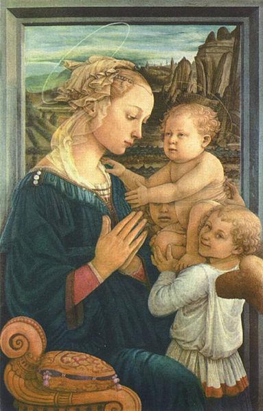 Filippo Lippi: Lippina (Madonna col Bambino e angeli)