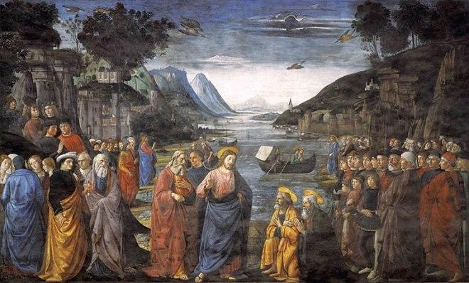 Domenico Ghirlandaio: Vocazione dei primi apostoli