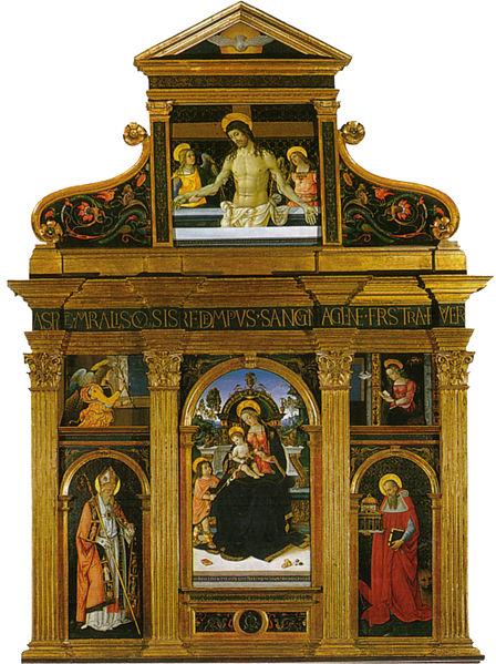 Pinturicchio: Pala di Santa Maria dei Fossi