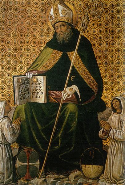 Pinturicchio: Sant'Agostino tra i flagellanti