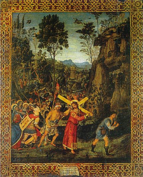 Pinturicchio: Andata al Calvario