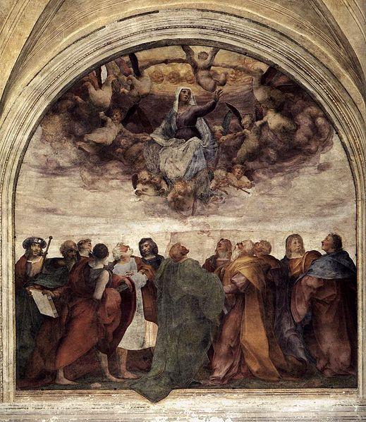 Rosso Fiorentino: Assunzione della Vergine
