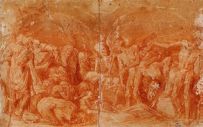 Rosso Fiorentino: Allegoria macabra