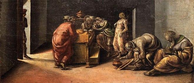 Luca Signorelli: Natività del Battista