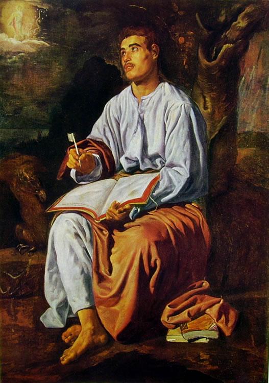 S. Giovanni Evangelista a Patmos, Londra National Gallery cm.102