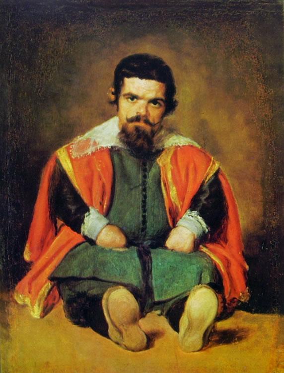 Il buffone Sebastian de Morra, Madrid Prado (cm. 81)