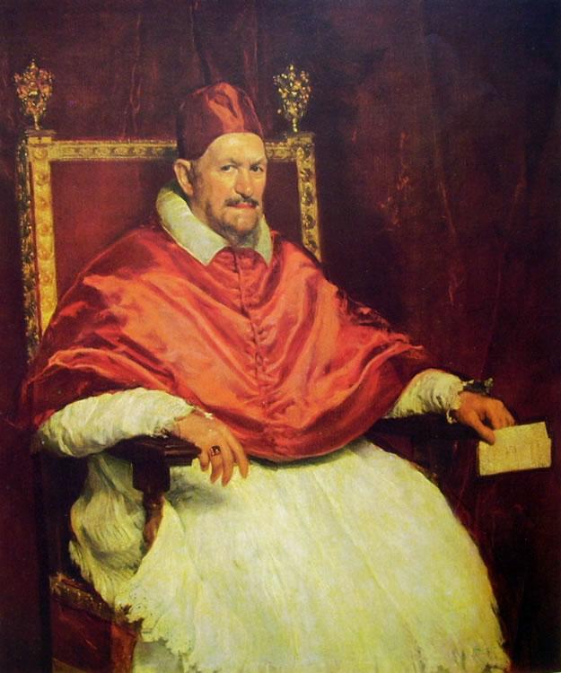 Papa Innocenzo X, Roma Galleria Doria Pamphilj (cm. 120)