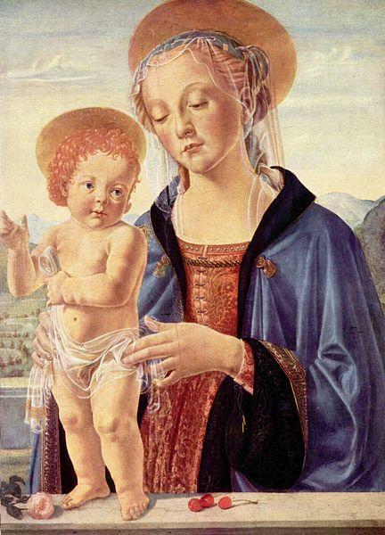 Bottega di Andrea del Verrocchio: Madonna col Bambino