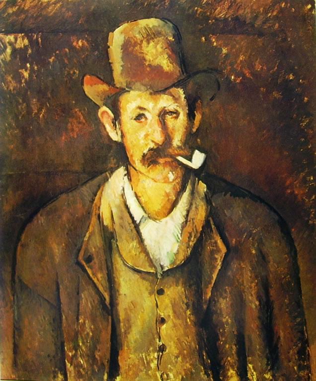 Paul Cezanne: Uomo con pipa