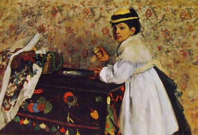 Edgar Degas: Hortense Valpincon