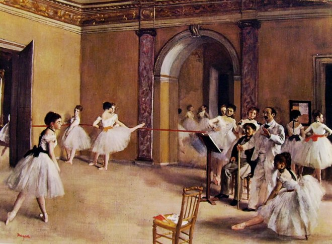 Edgar Degas: Scuola di ballo dell'Opera