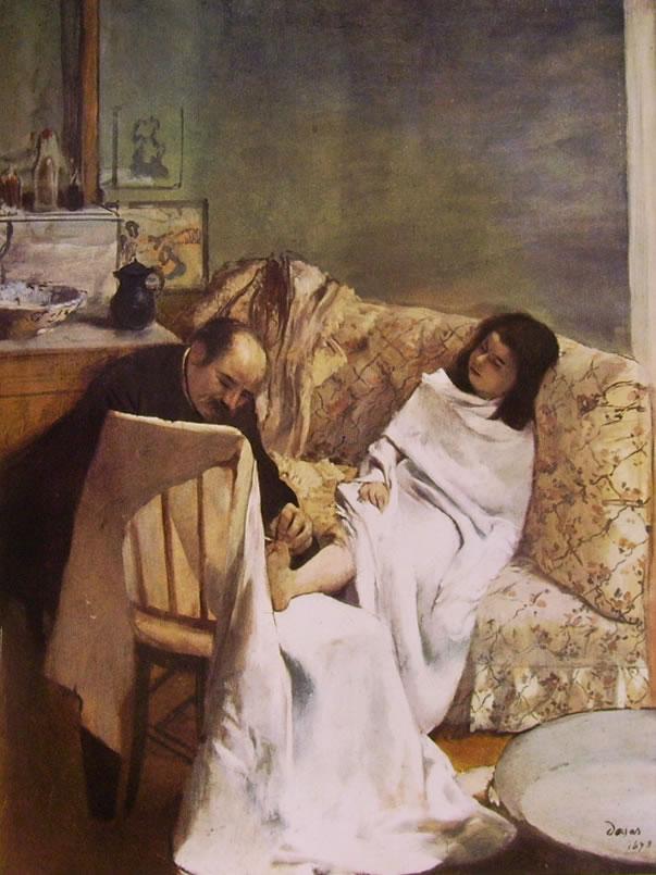 Pedicure, 61 x 46 cm. Museo d'Orsay, Parigi