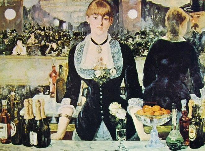 Un Bar alle Folies-Bergère