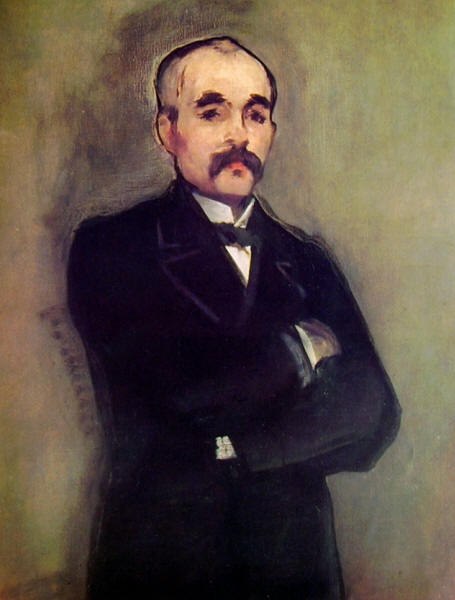 Edouard Manet: Ritratto di Clemenceau