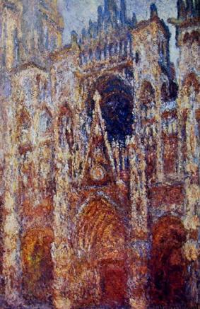 La Cattedrale di Rouen al primo sole, 1894, 91 x 63 cm. Musée d'Orsay Parigi