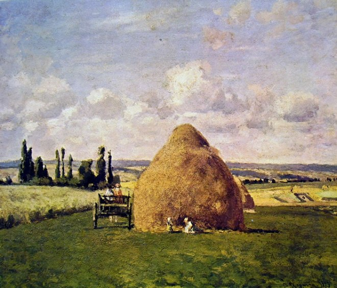 Camille Pissarro: Il covone a Pontoise