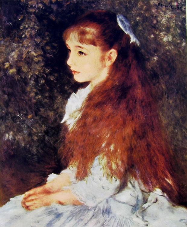 Ritratto di Irene Cahen d'Anversa, 1880, 65 × 54 cm Zurigo