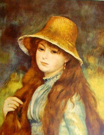 Renoir - Ritratto femminile