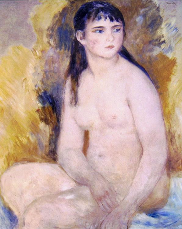 Donna nuda seduta, cm. 80 x 65, Musée Rodin Parigi