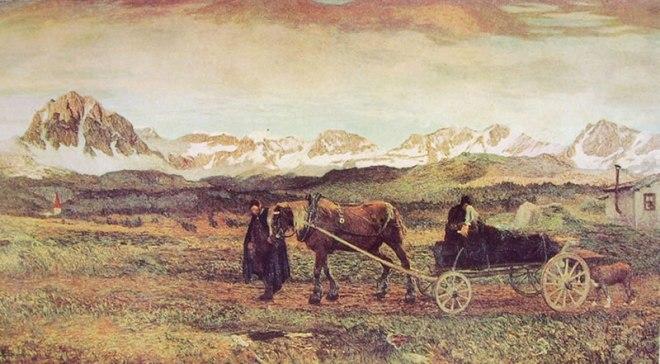 Giovanni Segantini: Ritorno al paese natio