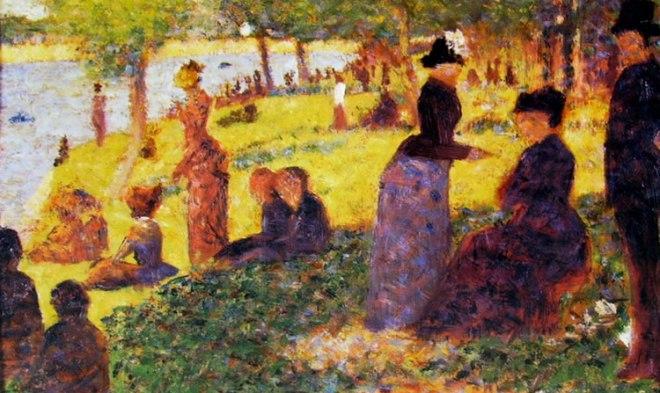 Georges-Pierre Seurat: Figure alla grande Jatte