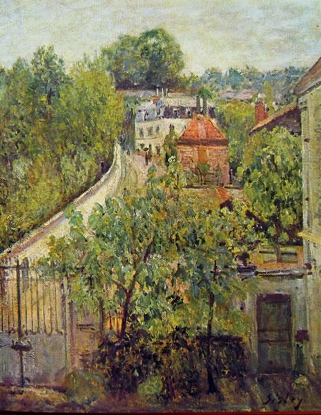 Alfred Sisley: Veduta di Sèvres