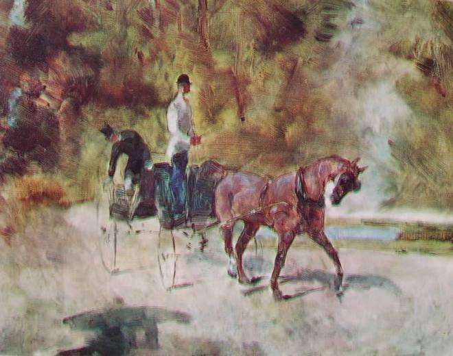 Toulouse-Lautrec: Calesse