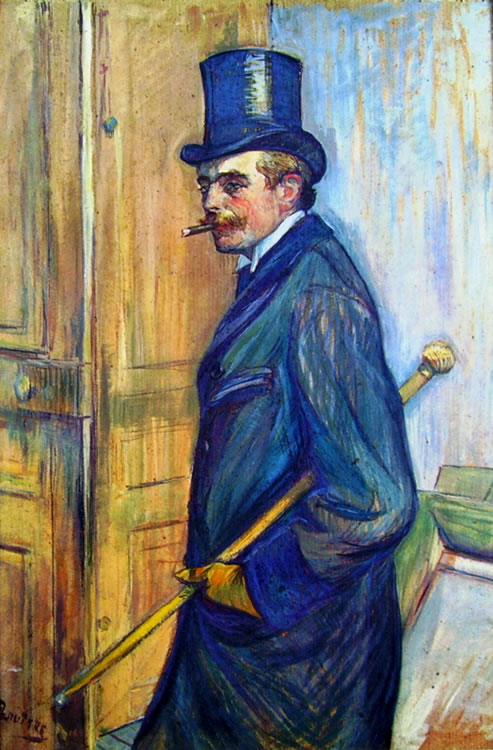 Toulouse-Lautrec: Ritratto di Louis Pascal