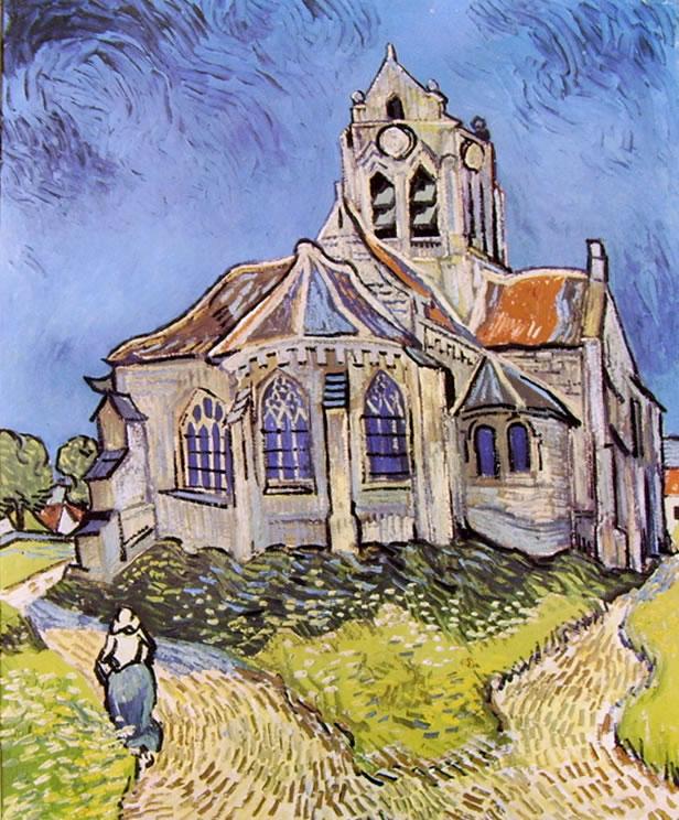 La chiesa di Auvers
