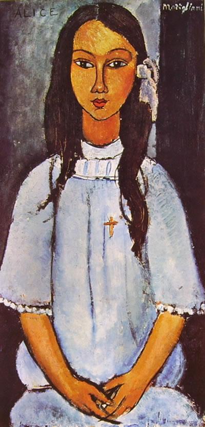 Amedeo Modigliani: Alice