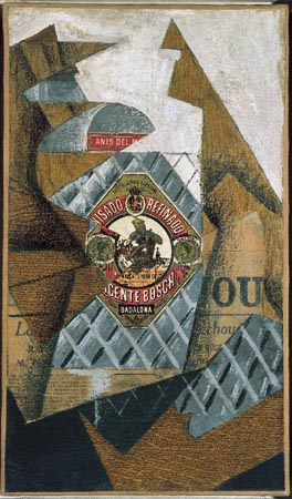 La Bouteille d'Anis un opera di Juan Gris