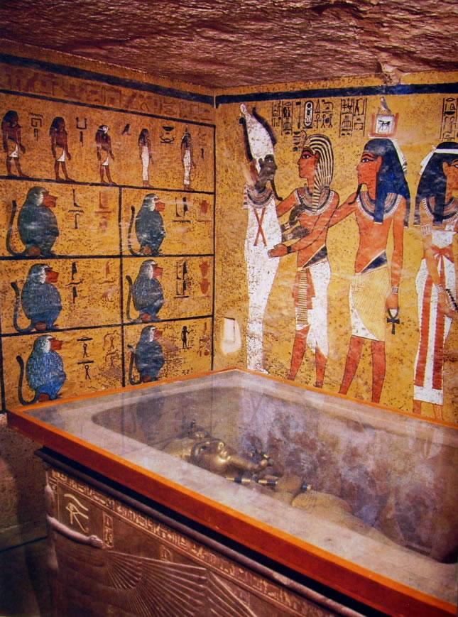 Tomba di Tutankhamen (KV62): il sarcofago