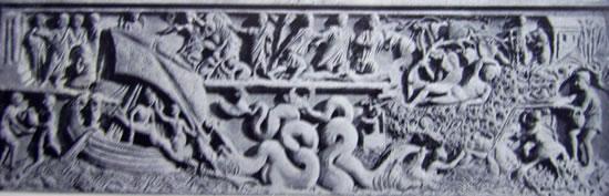 Sarcofago di Giona (Museo Lateranense, Roma)