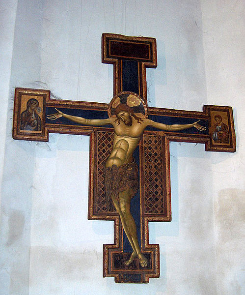 Giunta Pisano: Croce dipinta, basilica di San Domenico