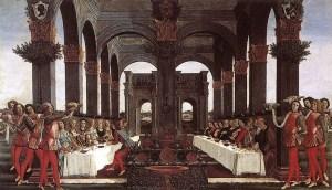 Botticelli, Nozze di Nastagio degli Onesti